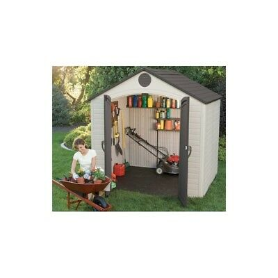 8X5 Lifetime Products Garden Shed With Floor.