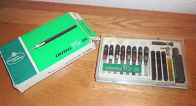 Vintage Faber Castell TG S1188 Technical Drawing Pen Set. 8 Nibs. German. Boxed