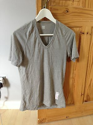 Rapha Merino Base Layer - light grey, small, excellent condition