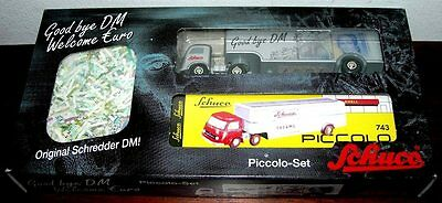 "SCHUCO Piccolo-Set ""Good bye DM, Welcome Euro"", Nr.01838 Limit. Auflage * RAR *"