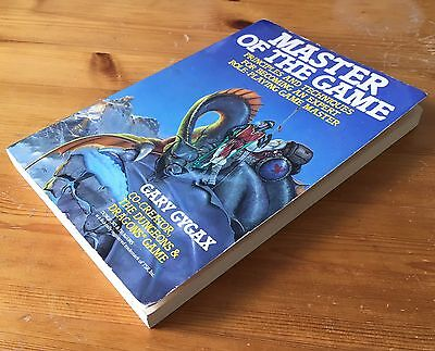 MASTER OF THE GAME - Gary Gygax - Putnam / Perigee - 1st Edition