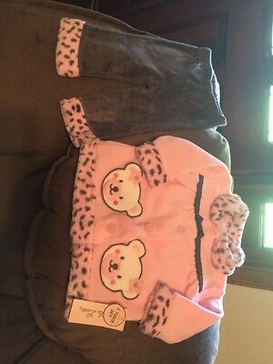 A Girls Little LassOutfit New With Tags Size 3 To 6 Months