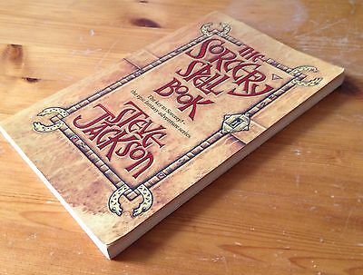 The Sorcery Spell Book - Steve Jackson - Fighting Fantasy - Puffin
