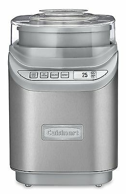 Cuisinart ICE-70C Gelato, Ice Cream and Sorbet Maker, Silver