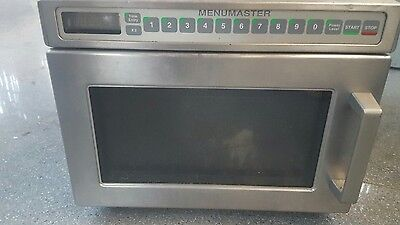 Menumaster heavy duty commercial microwave oven