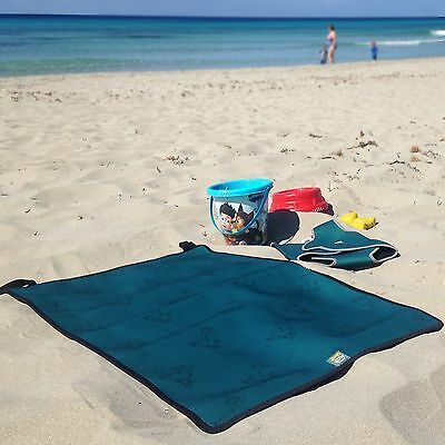 Swim Cosy Neoprene Swimming Pool Changing Mat - Roll up or Foldable and Portable