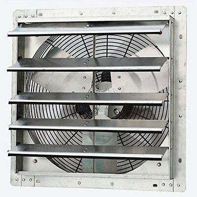 "Iliving ILG8SF18V 18 "" Variable Speed Shutter Exhaust Fan Wall-Mounted NEW"