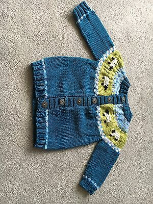 Hand Knitted Baby Cardigan 9-12 Months