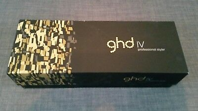 Black GHD iV Professional Hair Styler - Straighteners