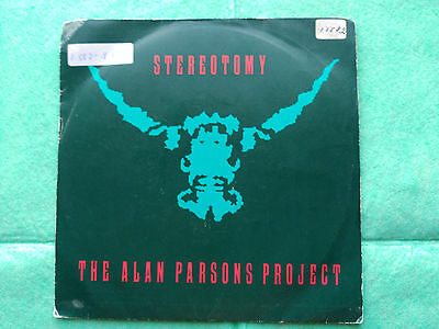 Promo Single Sided The Alan Parsons Project - Stereotomy - Arista Spain 1986