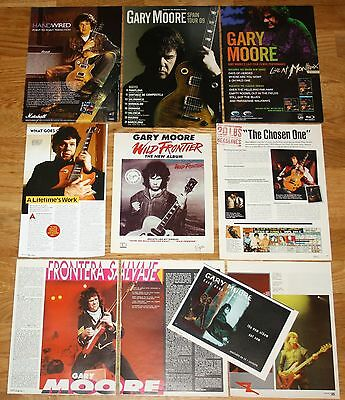 GARY MOORE clippings photos cuttings magazine articles Blues musician