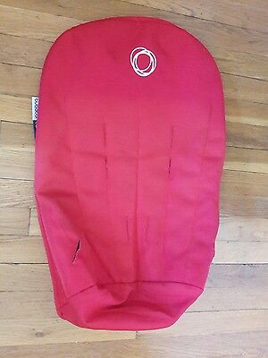 Bugaboo Cameleon Stroller Seat Cover Fabric in Red