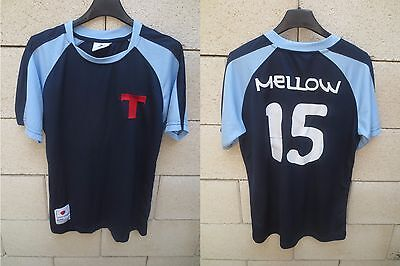 Maillot TOHO OLIVE & TOM Captain Tsubasa MELLOW n°15 shirt  manga football S