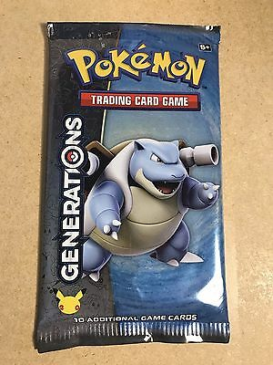 Pokemon Sealed Booster Packs Generations- 20Th Anniversary Brand New Sealed 2016