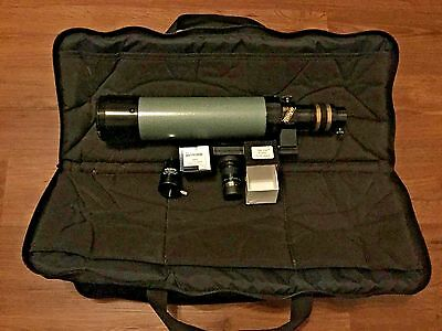Televue Ranger Telescope with 2 Eyepieces and Travel Bag - Very Nice!