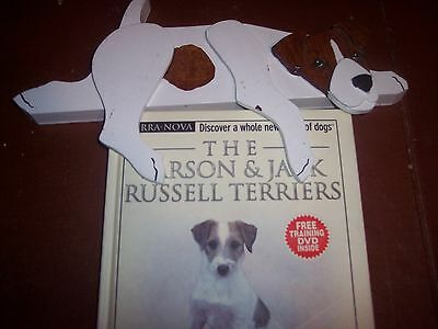 The Jack Russel Terrier  with Training Video and a Wood Door Frame Dog
