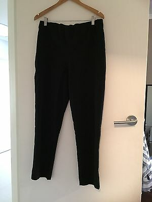 Classic Black Maternity Pants 14, Great For Work / Corporate