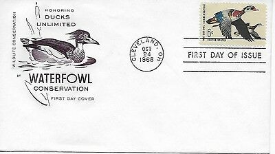 Scott #1362 - Waterfowl Conservation FDC