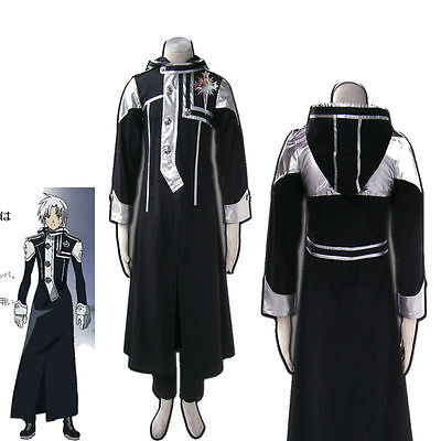 D.Gray-Man Allen Walker Cosplay Costume Adult Carnival Masquerade Party2