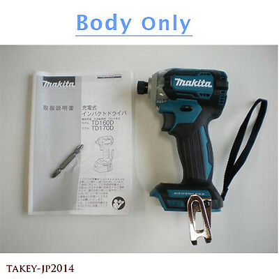 MAKITA TD170D TD170DZ Impact Driver Blue Color BODY ONLY Japan w/ Tracking