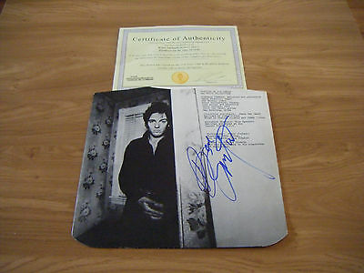 Autographed Album Sleeve Signed by Bruce Springsteen