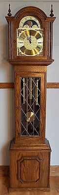 Grandfather Clocks- exc cond/exc working order/Hermle triple chime/moon dial/
