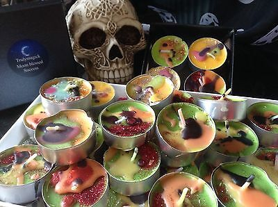 LUCKY SPELL Candles~Wicca Magic~Candles Box of 4~Witchcraft LUCK