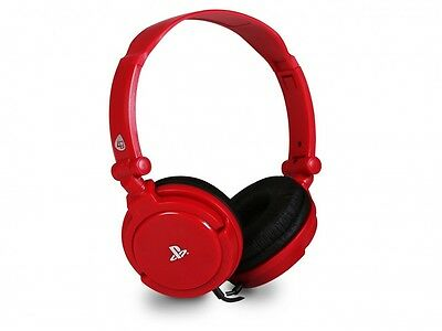 PlayStation 4 Pro4-10 PS4 Headset 4Gamers (Red) Brand New + Free Gift