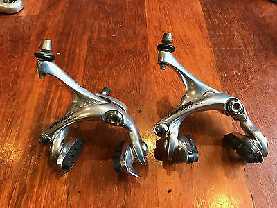 Campagnolo Athena brake calipers. Front & Rear. Good working order.