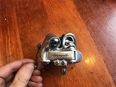 Campagnolo Mirage 8 speed rear dearailleur. Excellent working order