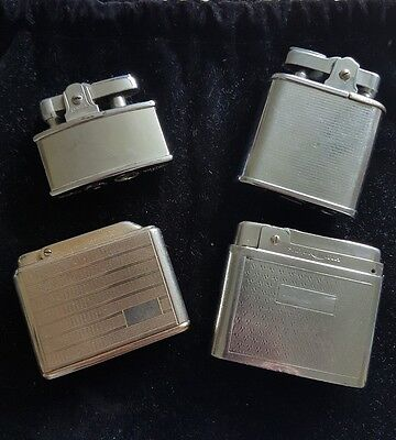 Job lot of four mixed vintage lighters. UNTESTED