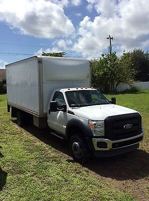 2011 Ford F550 Super Duty w/16 ft. box   Reduced Reserve Price.