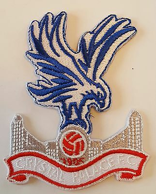 Crystal Palace FC The eagles Crest Iron on/sew on soccer football patch