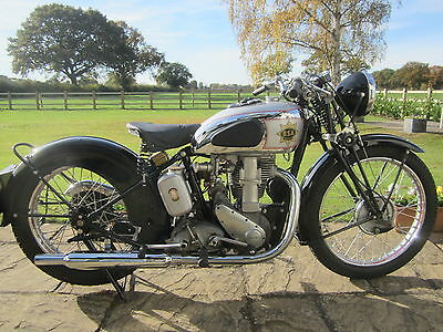 Also Original Cases 1938/9 BSA Gold Star 500cc Classic Motorcycle Vintage  bike