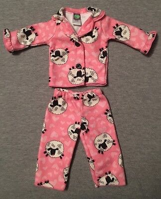 """2 pc Pajama Set - Doll Clothes for American Girl doll and all 18"""" doll"""