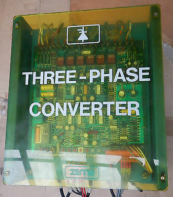 Zema 3 Phase Converter/Three Phase Converter / IMAX 70A/ Very Good Condition