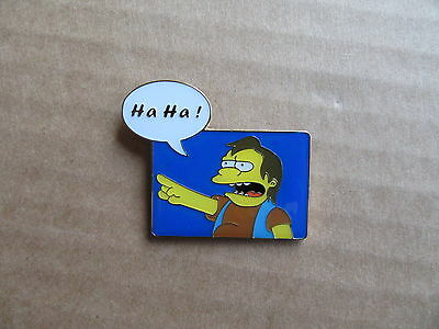 "Simpsons - Pin.  Nelson : ""Ha Ha""   Absoluter Klassiker"