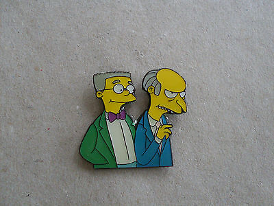 Simpsons - Pin.  Mr.Burns und Smithard