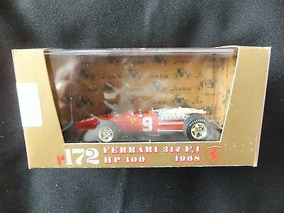 Brumm Ferrari 312F1 1968. Mint and boxed.