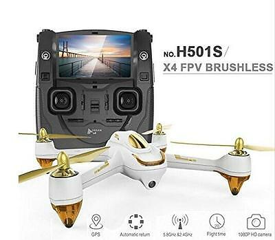 Hubsan X4 H501S FPV Brushless 1080P Camera Quadcopter with Transmitter (RTF)