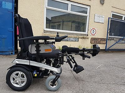 Pride Fusion 4Mph Electric Seat Tilt And Recline Mobility Wheelchair,scooter,