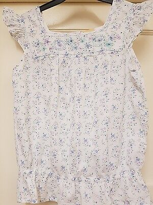 girls floral summer top 12 to 13 yrs