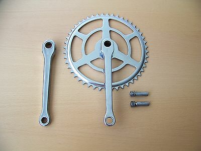 Vintage Raleigh Bicycle 1960 Cottered Crank Chainwheel Set 48T