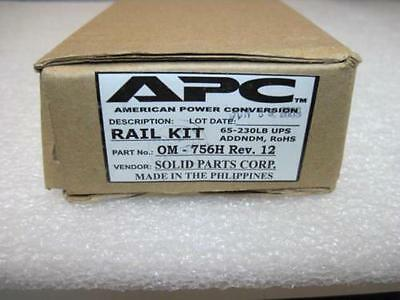 "NEW APC OM-756H American Power Conversion Smart-UPS 19"" rail kit"