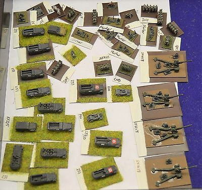 Flames of War GHQ German Eaarly mid war 6mm army lot of 41 251's Mech army