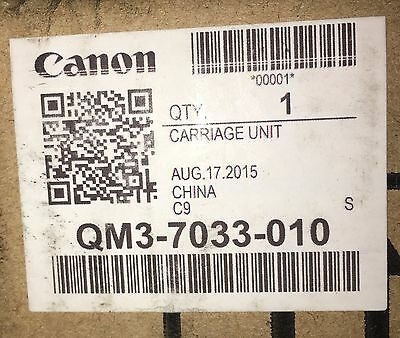 Canon iPF8300 / 8300S Carriage Unit , NEW , QM3-7033-010