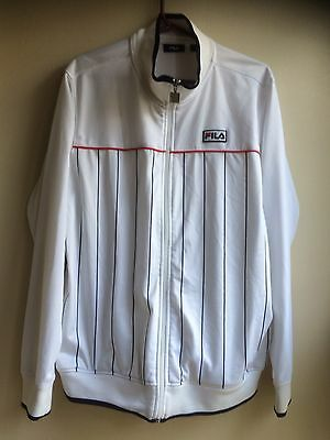 Vintage Fila Tracksuit Top Men's Xl Extra  Large