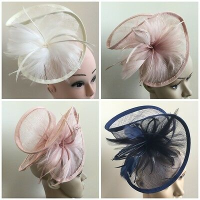 Elegant Headband Aliceband Hat Fascinator Weddings Ladies Day Race Royal Ascot