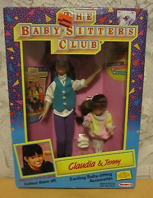 REMCO 1991 Vintage Babysitters Club Claudia & Jenny Dolls NEW IN SEALED BOX SALE