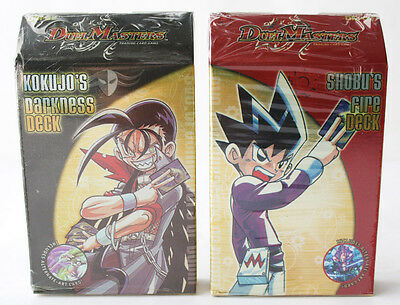 Duel Masters Tcg Kokujo's Darkness + Shobu's Fire Deck Sealed Packs Unofficial